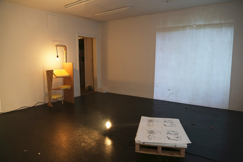 Immigration Office -Umbra Hominis, 2014